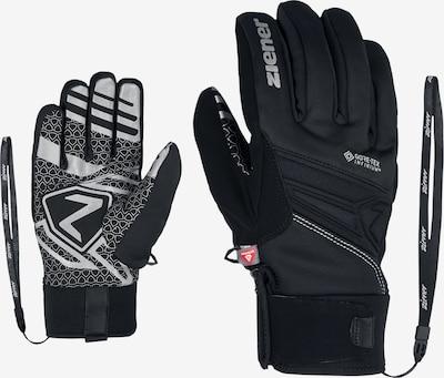 ZIENER Fingerhandschuhe 'INFINO GTX' in schwarz, Produktansicht