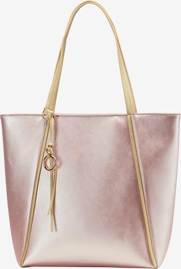 myMo at night Shopper in gold / pink, Produktansicht