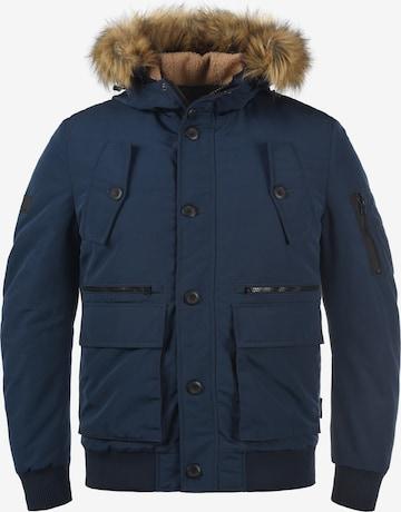 INDICODE JEANS Winterjacke 'Duffy' in Blau