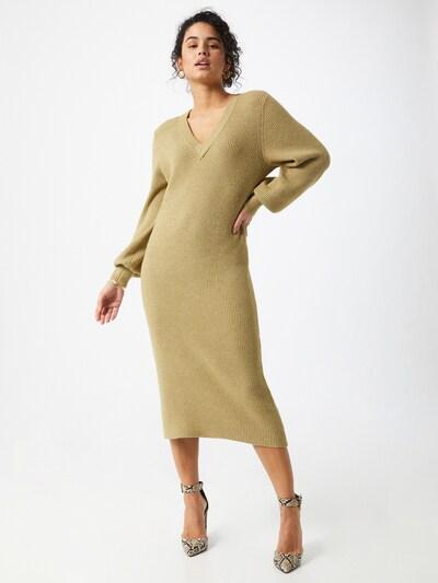OBJECT Kleid 'VIOLETTE' in khaki, Modelansicht