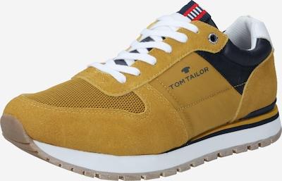 kobaltkék / mustár / fehér TOM TAILOR Rövid szárú edzőcipők, Termék nézet