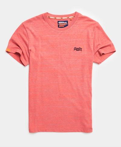 Superdry Superdry Vintage T-Shirt mit Stickerei aus der Orange Label Kollektion in hellpink, Produktansicht