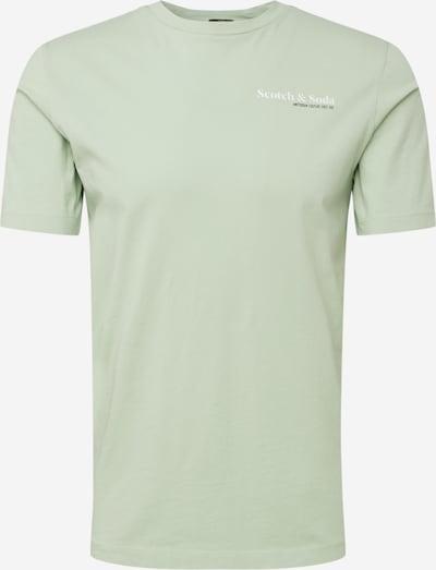 Maglietta SCOTCH & SODA di colore verde pastello / nero / bianco, Visualizzazione prodotti