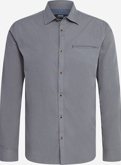 INDICODE JEANS Shirt 'Cullen' in Light grey, Item view