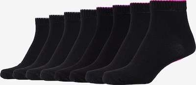 SKECHERS Kurzsocken Las Vegas im 8er-Pack in mischfarben / schwarz, Produktansicht