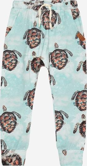 Pantaloni Walkiddy di colore blu chiaro / colori misti, Visualizzazione prodotti