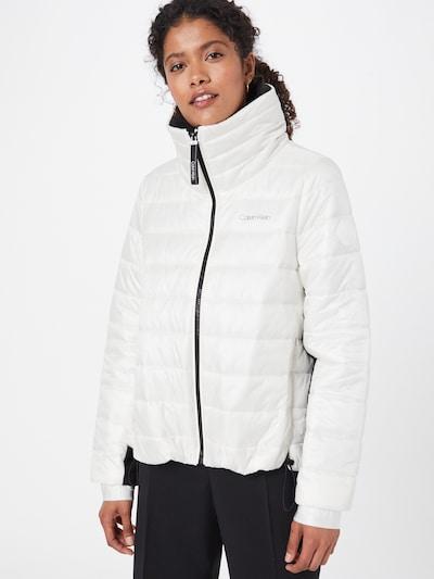 fekete / fehér Calvin Klein Átmeneti dzseki: Elölnézet