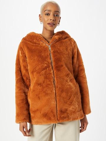 Tally Weijl Zimný kabát - Hnedá