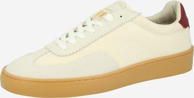 SCOTCH & SODA Låg sneaker i beige / vit, Produktvy