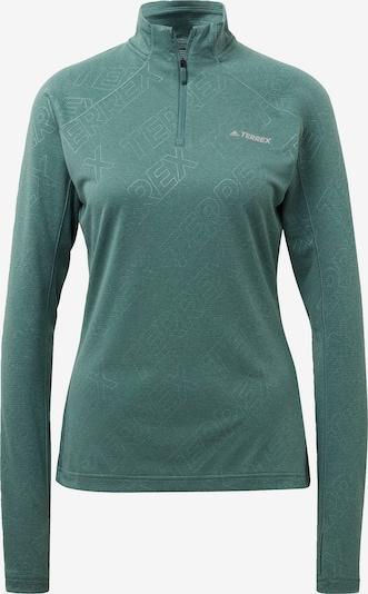 ADIDAS PERFORMANCE Functioneel shirt 'TERREX Tracerocker' in de kleur Groen, Productweergave