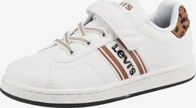 LEVI'S Sneakers  'BRANDON' in braun / schwarz / weiß, Produktansicht