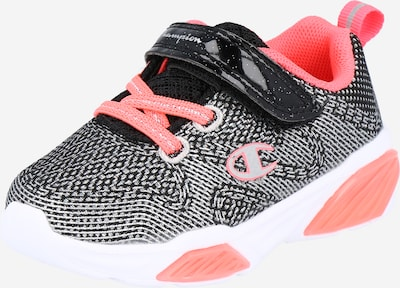 Champion Authentic Athletic Apparel Sneakers 'WAVE' in grey / pink / black, Item view
