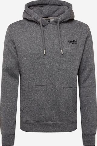 Superdry Sweat jacket in Grey