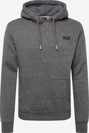 Superdry Sweatshirt in graumeliert, Produktansicht