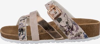 JANE KLAIN Pantolette in rosegold, Produktansicht