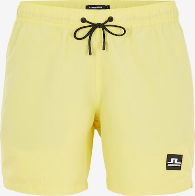 J.Lindeberg Shorts de bain 'Banks' en jaune clair, Vue avec produit