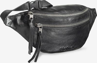 tigha Gürteltasche aus Leder  ' Naldo ' in schwarz, Produktansicht