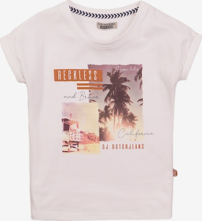 DJ DUTCHJEANS Shirt in Mixed colors / White, Item view
