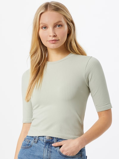 Marškinėliai iš NU-IN , spalva - šviesiai pilka: Vaizdas iš priekio