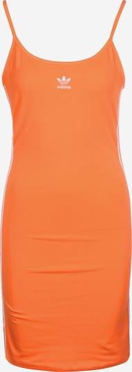 ADIDAS ORIGINALS Kleid ' Tank ' in hellorange / weiß, Produktansicht