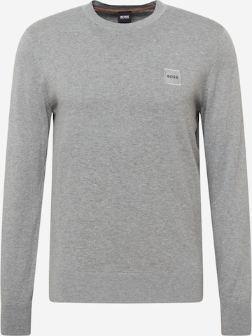 BOSS Casual Sweater 'Kanovant' in Grey