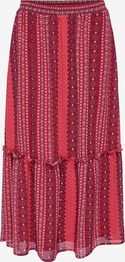 ONLY Rok in de kleur Rood / Wijnrood, Productweergave
