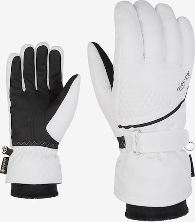ZIENER Skihandschuhe 'KIANA GTX' in weiß, Produktansicht