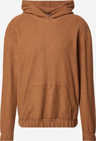 DAN FOX APPAREL Sweatshirt 'Mirco' i brun