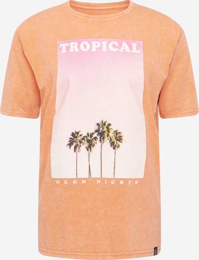 SHINE ORIGINAL Shirt 'Photo print tee S/S' in orange, Produktansicht