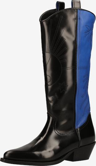 SCOTCH & SODA Bottes en bleu / noir: Vue de face
