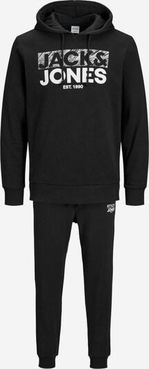 JACK & JONES Trainingsanzug in schwarz, Produktansicht