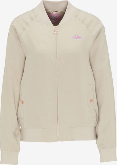 MYMO Jacke in creme / lila, Produktansicht