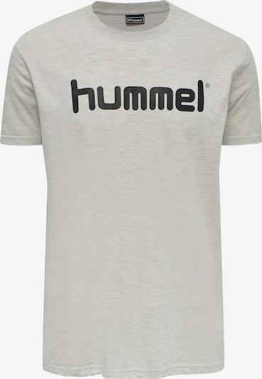 Hummel T-Shirt fonctionnel en gris clair / noir, Vue avec produit