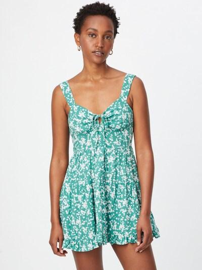 Cotton On Letné šaty 'SANDY' - zelená / biela, Model/-ka