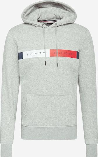 TOMMY HILFIGER Sweatshirt in marine / grau / rot / weiß, Produktansicht