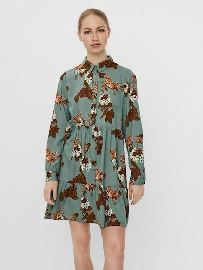 VERO MODA Blusenkleid in mischfarben, Modelansicht