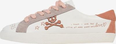 Scalpers Nízke tenisky 'Lia Graffiti' - béžová / ružová / šedobiela, Produkt