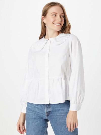 Bluză 'FREDDI' NEW LOOK pe alb, Vizualizare model