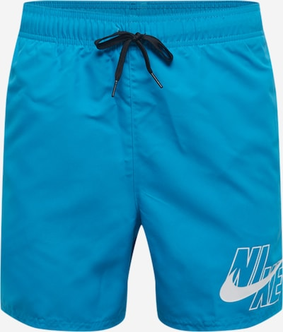 NIKE Shorts de bain en bleu / blanc, Vue avec produit