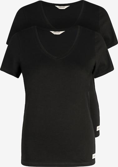Oxmo T-Shirt 'Vanni' in schwarz, Produktansicht