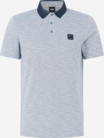 BOSS Koszulka 'Pecas' w kolorze opal / fioletowo-niebieskim, Podgląd produktu