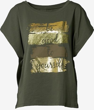 NÜ DENMARK Shirt in gold / khaki, Produktansicht