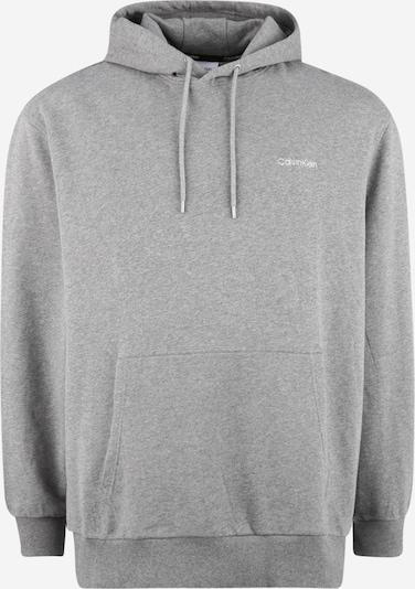 Calvin Klein Hoodie in grau / weiß, Produktansicht