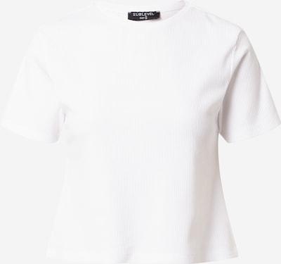 Sublevel Тениска в бяло, Преглед на продукта