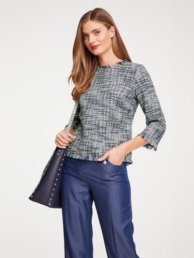 heine Bluse in grau / mischfarben, Modelansicht