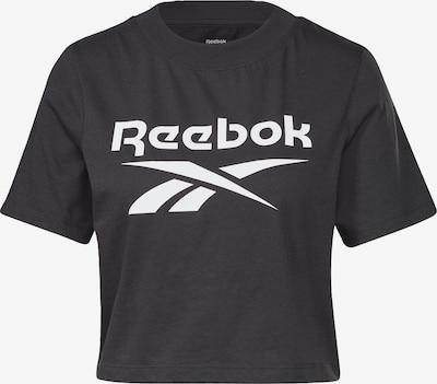 Sportiniai marškinėliai iš REEBOK , spalva - juoda / balta, Prekių apžvalga
