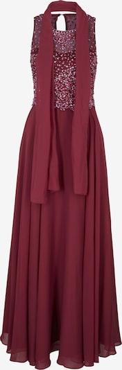 Rochie de seară heine pe bordeaux, Vizualizare produs