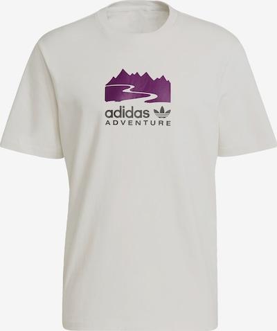 ADIDAS ORIGINALS Shirt 'Adventure' in de kleur Grijs / Lila / Wit, Productweergave