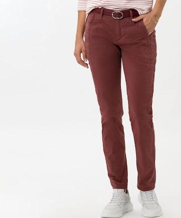 BRAX Chino Pants 'Merrit' in Brown