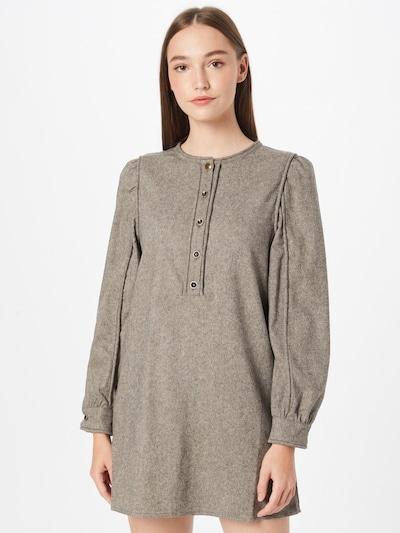sessun Kleid 'HELOIS' in rauchgrau, Modelansicht